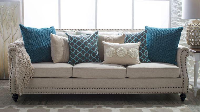 modern decorption throw pillows