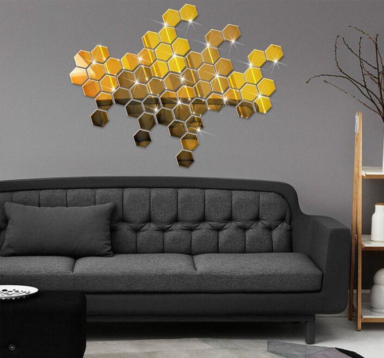 modern decorcation geometric shapes