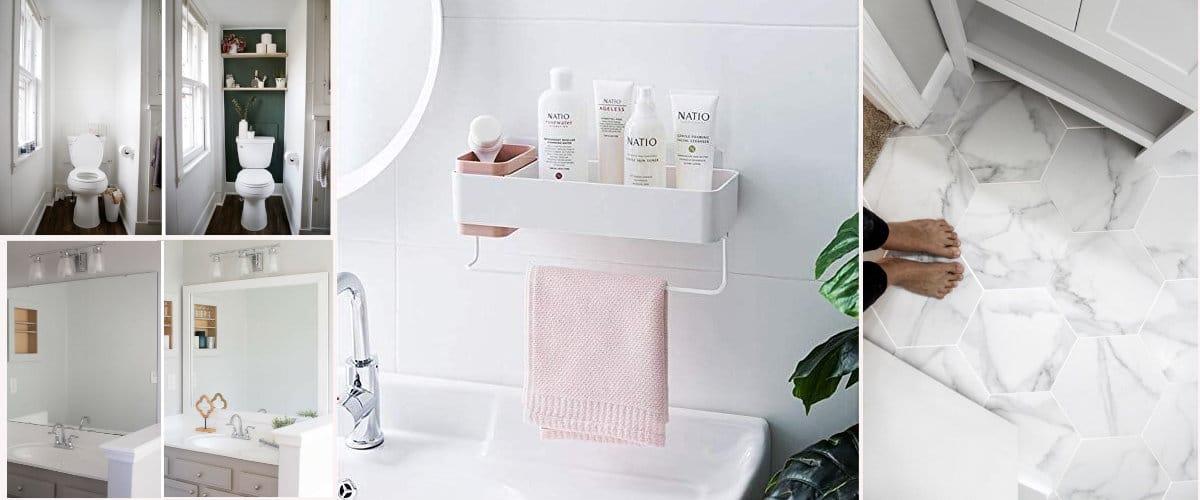 Renovate a rental bathroom