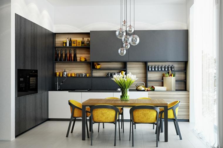 cocina-sala-muebles-gris-pantone