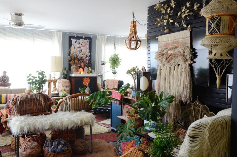 decoración boho estilo unico
