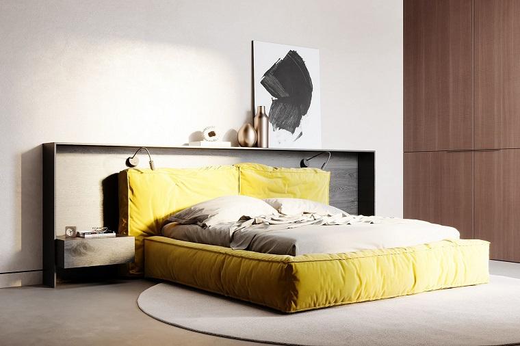 pantone-2021-cama-amarilla-dormitorio