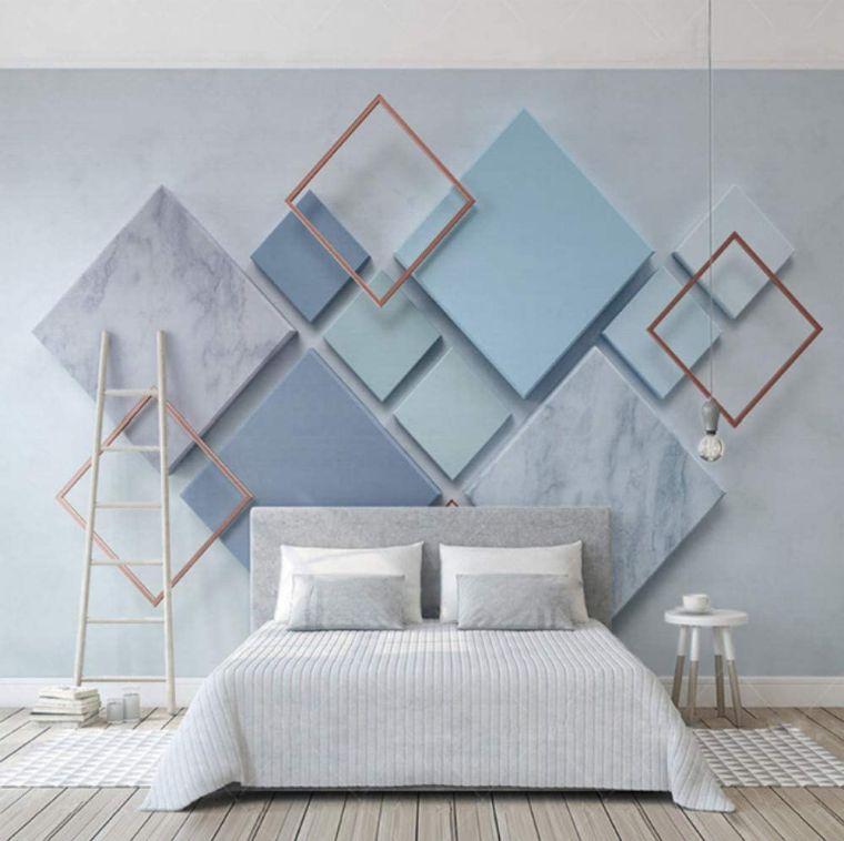 papel tapiz geometrico