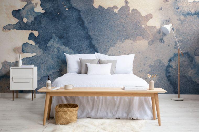 papel tapiz liquido dormitorio