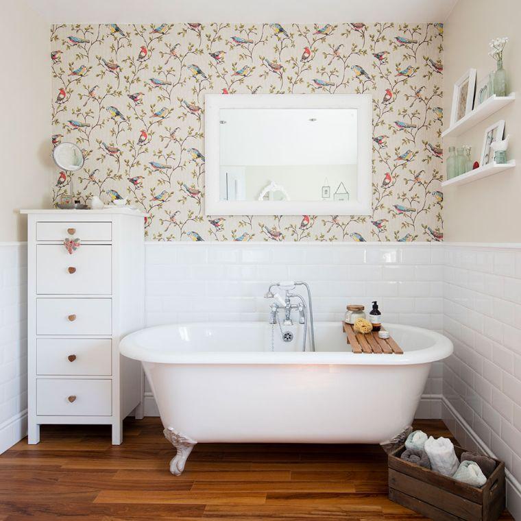 papel tapiz para baños