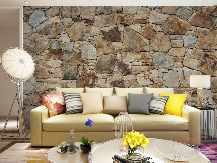 papel tapiz patron de piedra