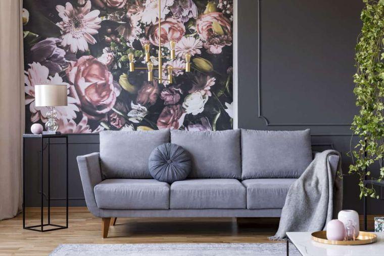 papel tapiz sala de estar
