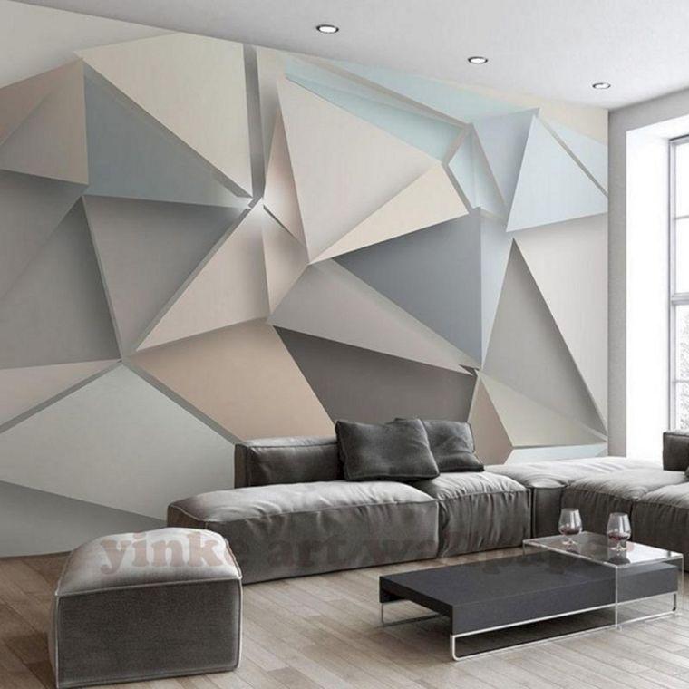 papel tapiz tridimensional