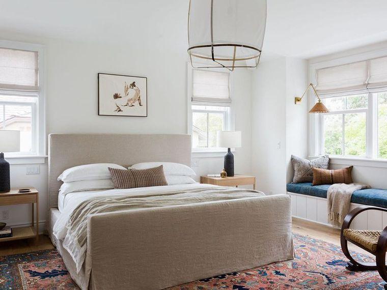 tendencias decoración dormitorios calidos