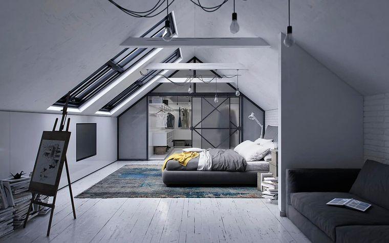 tendencias decoración dormitorios loft