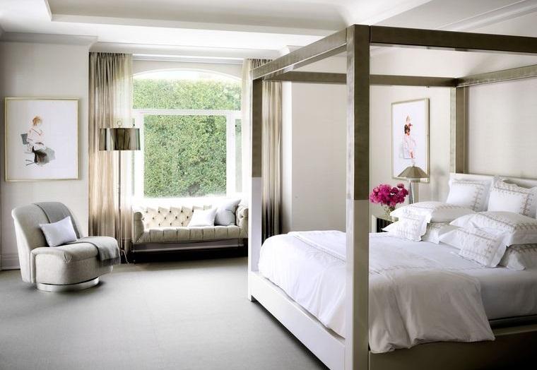 tendencias decoración dormitorios modernos