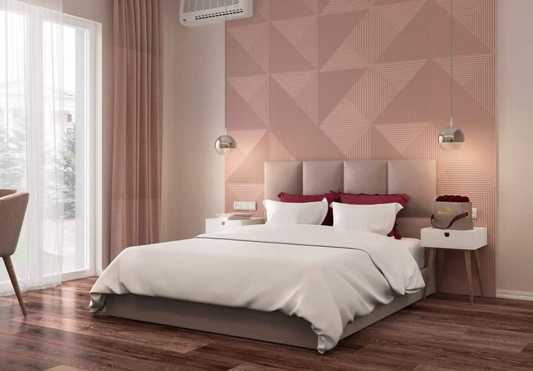 tendencias decoración dormitorios pisos madera