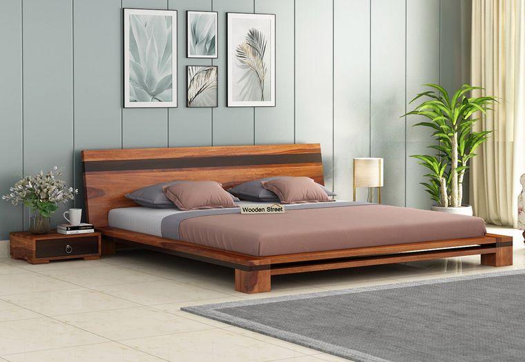 tendencias decoración marco de cama minimo