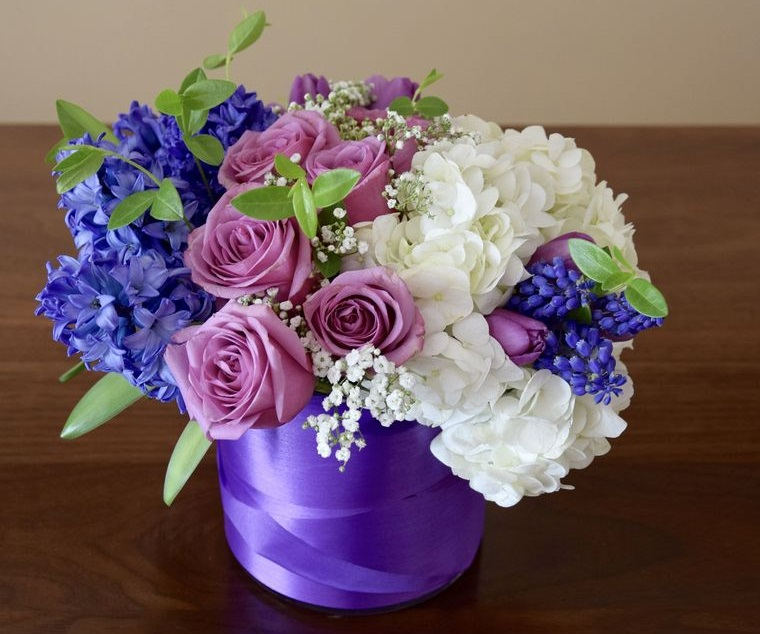 hyacinth flowers arrangement to decorate