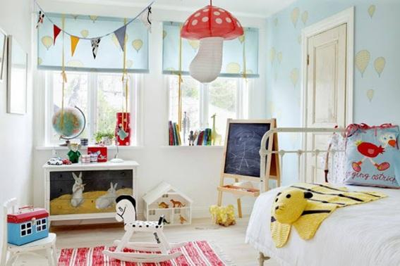 decorar dormitorio infantil escandinavo