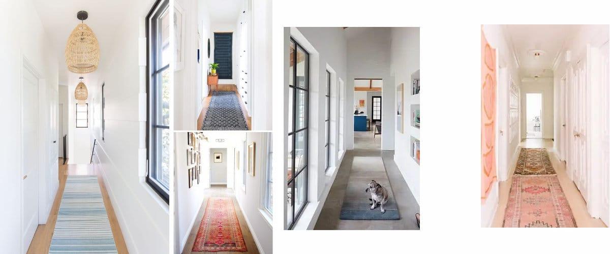 Carpet for narrow corridors