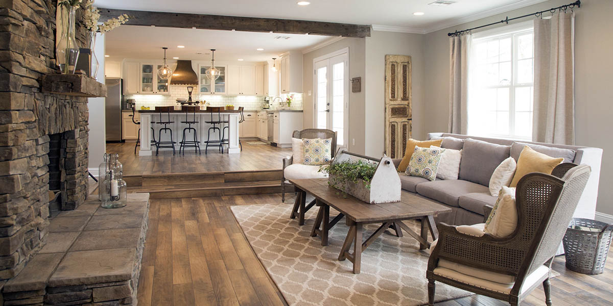 Rustic chic for the home