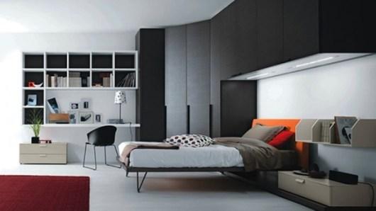 bedroom for man