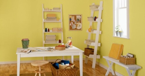 yellow office