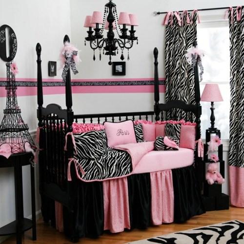 zebra kids bedroom