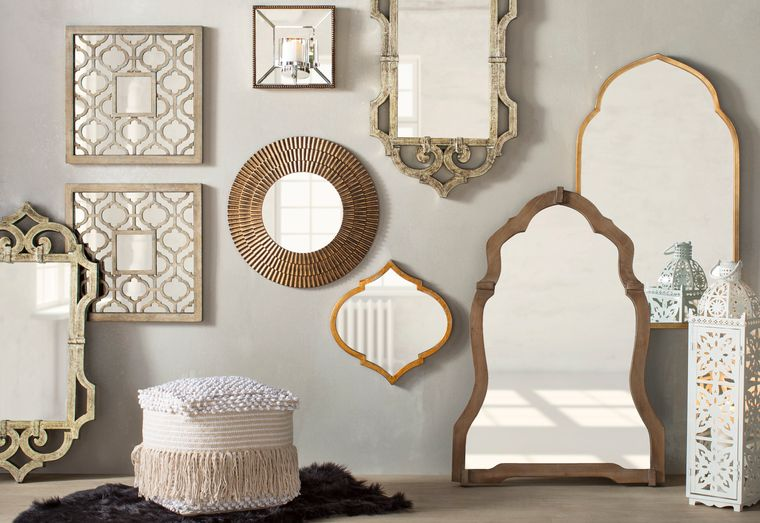 decoration with mirrors original ideas