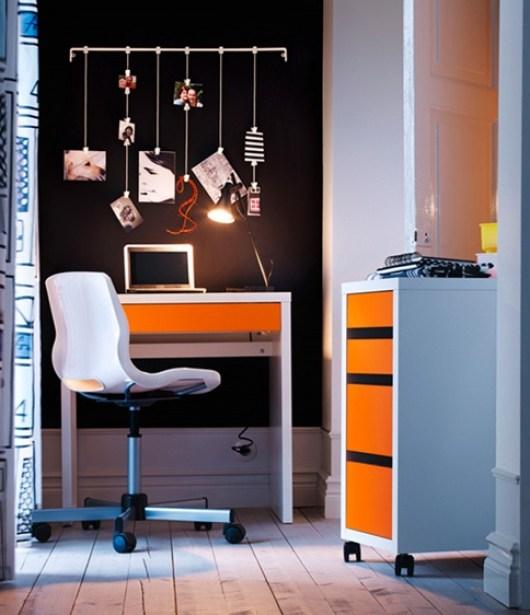 decorate-office-orange