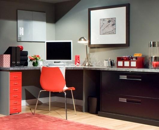 office-decorated-orange