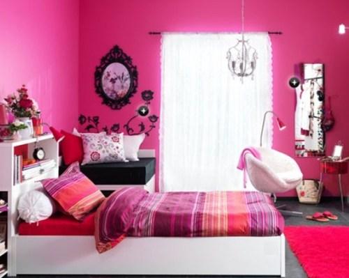 bedroom-fuchsia-black