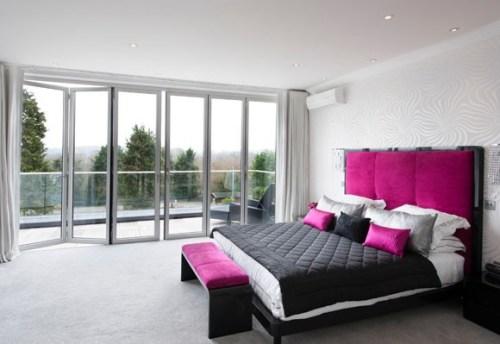 bedroom-color-fuchsia