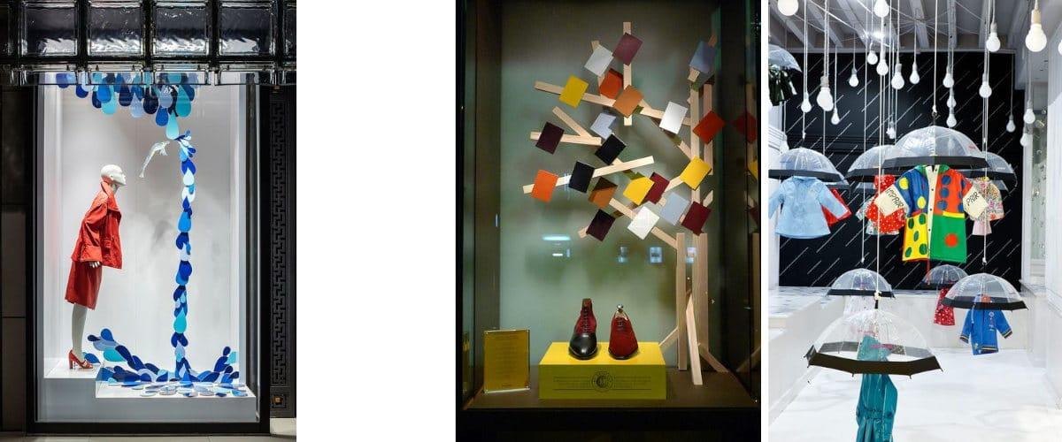 Autumn shop windows